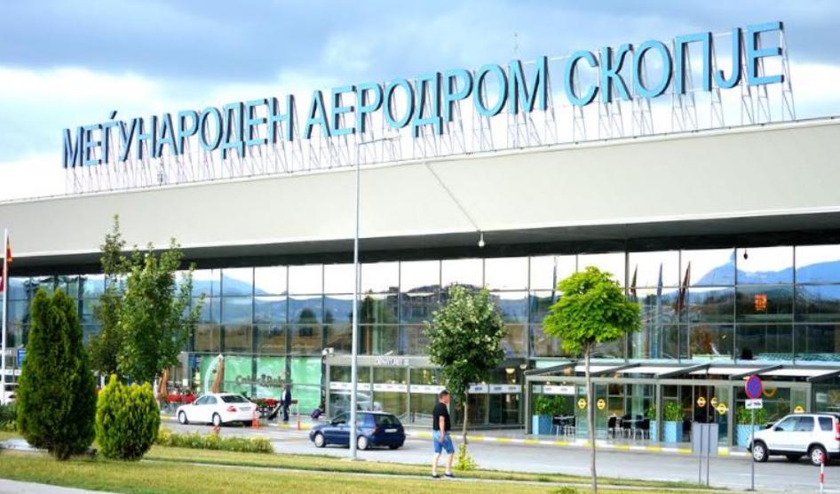 Arrestohet një person nga Gostivari në aeroportin e Shkupi