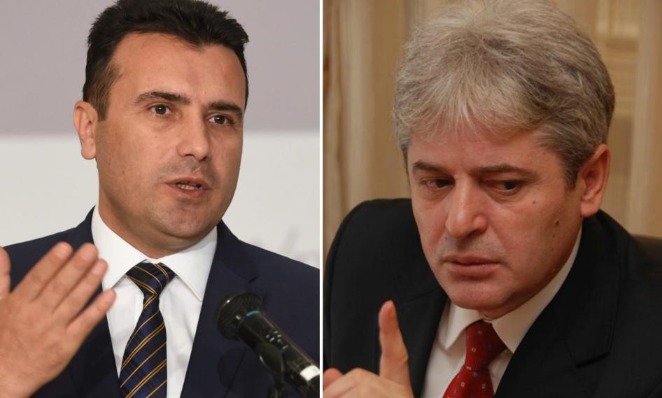 Zaev  Nuk vlejnë 5 pare  e kam thënë për BDI në  Ahmeti  S ka ofendim më të madh se t u thuash shqiptarëve se shiteni