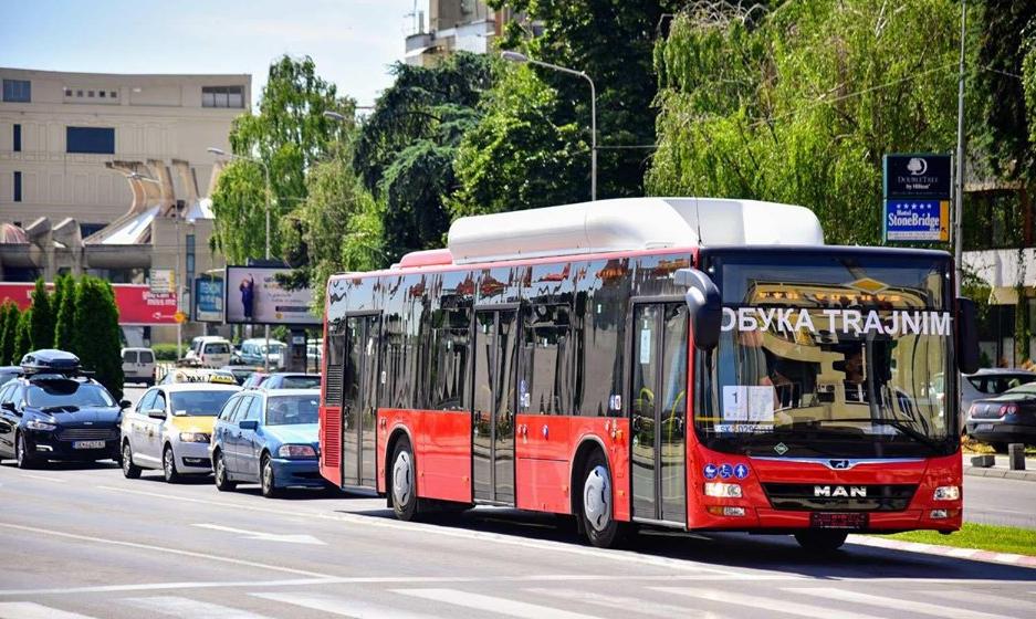 Shkup  lëshohen në përdorim autobusët e ri ekologjik