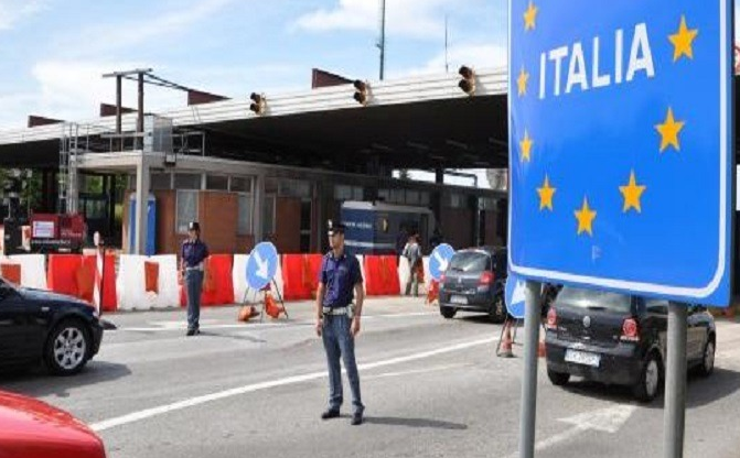 Italia ndaloi hyrjen e 13 vendeve  mes tyre edhe Maqedonia e Veriut