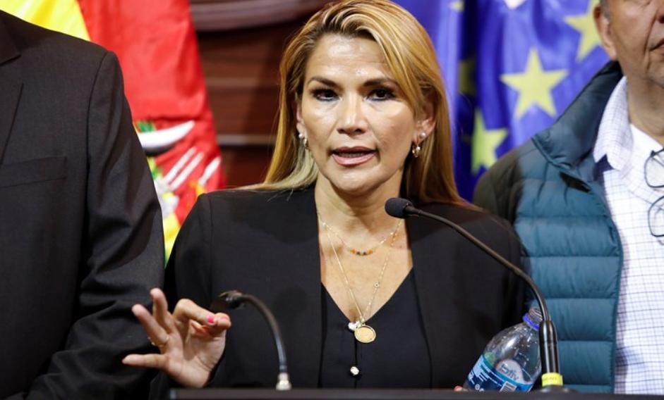 Presidentja e përkohshme e Bolivisë e infektuar me Covid 19